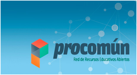 Logotipo de Procomún. Red de Recursos Educativos Abiertos